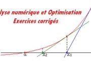 Analyse numérique et l'optimisation
