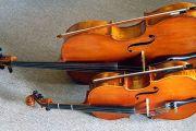 Le violon ou le violoncelle