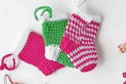 Mini Chaussettes de Noël