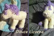 Douce Licorne au crochet