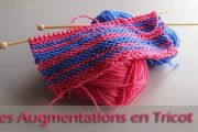 Les augmentations en tricot