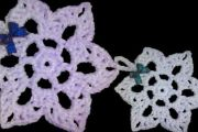 Flocon de neige en crochet