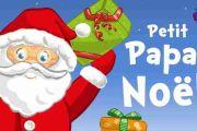 Petit papa Noël guitare et couleurs