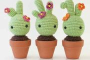 Bébé Cactus au crochet