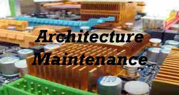 Architecture et maintenance d'un ordinateur