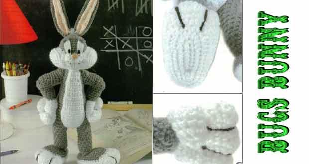 Amigurumi Bugs Bunny Free Pattern - Amigurumi Free Patterns and ... | 330x620