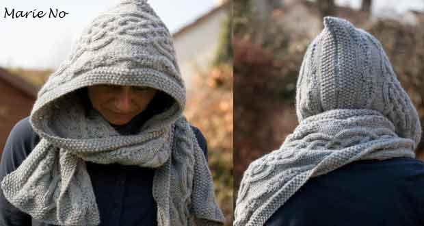 324b80ef5084 Modele echarpe capuche femme tricot - balbuzard-migration.fr