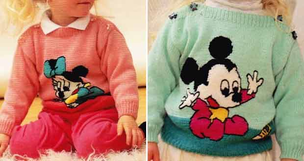 Pull avec Minnie ou Mickey