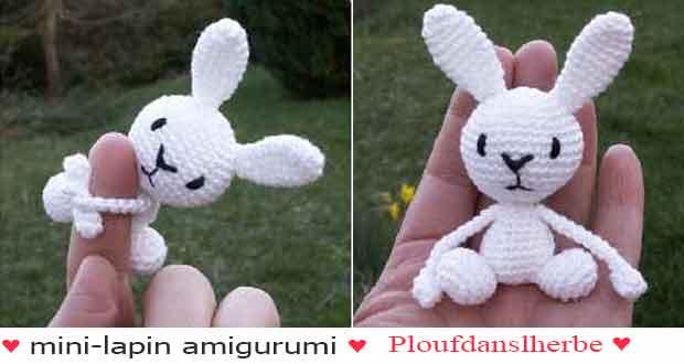Patron Crochet Amigurumi : Petit lapin à bandana – Made by Amy | 330x620