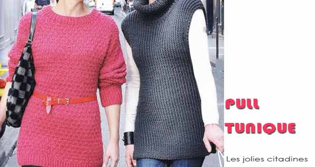 Pull tunique